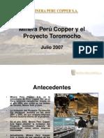 Perú Copper - Presentación Autoridades (2007!07!03)