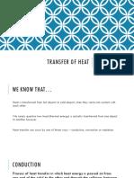 heat transfer and calorimeters