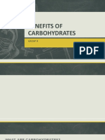 Benefits of Carbohydrates