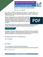 DESARROLLO UNIDAD IV ORGANIZACIÓN