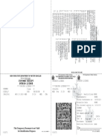 Temporary Photo Document