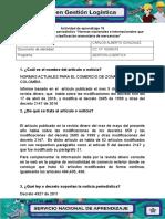 Actividad 15, Evidencia 3. Ejercicio Periodistico.