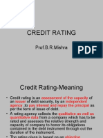 6 Credit Rating