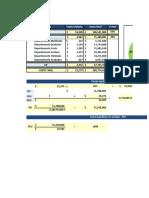 Ejercicio Costos y Presupuestos 23 Febrero