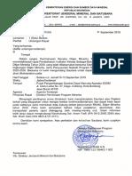0624.Und-04-Dbp.pp-2019 Und 10-13 Sept 2019 Di Ppsdma Bandung - Pembahasan Renstra Ditjen Minerba Thn 2020-2024 (Il)
