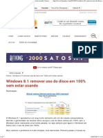 Windows 8.1 Remover Uso Do Disco Em 100% Sem Estar Usando _ Limon Tec