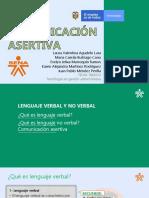 Exposicion #1 Comunicacion Asertiva