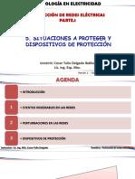 Elementos de las protecciones eléctricas