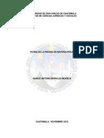 Mtesis de La Prueba y Proceso Penal