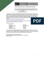 Comunicado de Absolución de Consultas Segunda Convocatoria