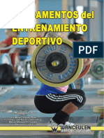 Fundamentos Del Entrenamiento Deportivo