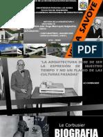 analisis a le corbusier y villa savoye