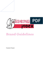 brand guidelines minervas index