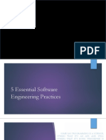 The 5 Software Engineering Practices and System Implementation