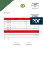 JHS Progress Report 4th