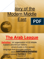 History of the Middle East the Extras PowerPoint-1