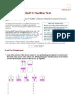 NNAT Practice Test (2019 Current). Instant Scoring