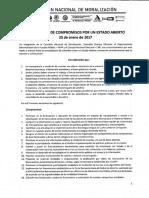 Declaración Compromisos Estado Abierto_2017