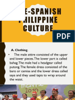 Pre-Spanish Philippine Culture