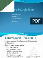 Bst Search Insert Delete