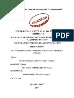 Estructura Del Presupuesto Público-caratula