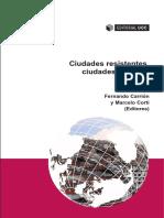 Jordi Borja, Fernando Carrión y Marcelo Corti (eds.) - Ciudades resistentes, ciudades posibles
