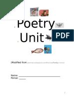 Poetry Unit Internet
