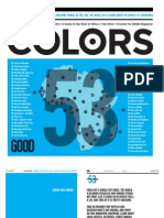 Colors for Good Magazine