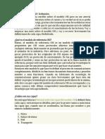 Características modelo OSI