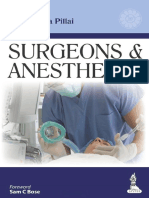 Surgeons and Anesthesia