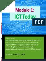 XI-Intro to ICT