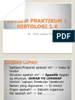 1. Review Praktikum Histologi 1 Blok 1.4 Remed