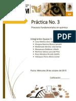 """Practica """"procesos fundamentales en química"""""""