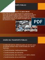 Diseño de Transporte Publico