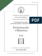 Investigacion y Docencia 39