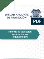 Informe de ejecución plan de acción