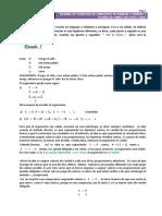 Ejemplos Argumentos de lenguaje a simbolo y validez con ceros y unos