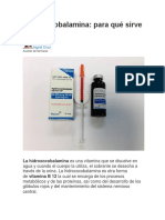 Hidroxocobalamina