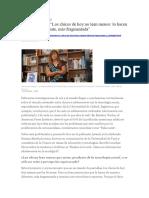 Lectura, Información y Adolescencia