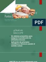 HACCPP -El Análisis de Peligros y Puntoscriticos de control en una empresa