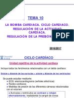 La Bomba Cardíaca Ciclo Cardíaco Regulación P.  Arterial