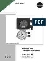 Samson Media 6 for CO2 Carbon Dioxide Storage Level Transmitter