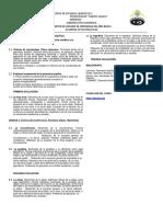 Programa Sintético de Geometria Analitica