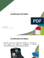 Certificacion Cable