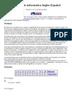 Glosario de Informática Inglés-Español_Para Entregar 2do Parcial