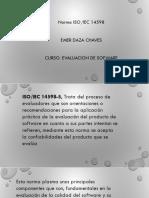 Normas ISO IEC14598 5 y Tipos de Prouebas