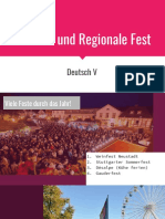 Sommer Und Regionale Fest
