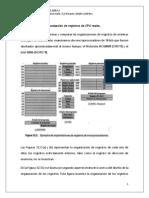Ejemplos de Organizacion de Registros de CPU Reales SINTESIS