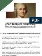 Rousseau, Ensayo Sobre El Origen de Las Lenguas