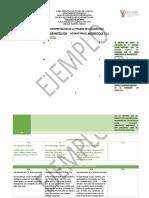 Ejemplo Interpretacion de La Prueba de Diagnóstico 2017-2018
